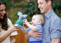 Pin for Later: Aww! Prince George Gets Even More Adorable at the Zoo