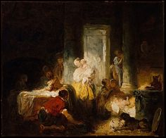 The Happy Mother-Jean Honore Fragonard