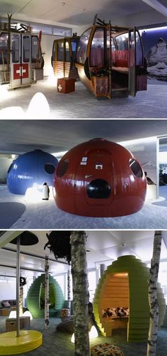 12 Coolest Cubicles And Work Spaces