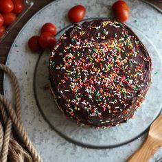 Captain Fantastic: Chocolate Cake with Whipped Cream