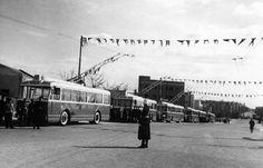 Madrid, Ferrocarriles y Transportes Urbanos: Los Trolebuses de Madrid. Apuntes históricos.