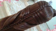 peinados de cascada faciles para cabello largo bonitos y rapidos con tre...