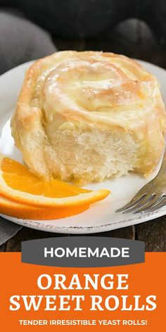 Homemade Orange Rolls – Tender, Fluffy Sweet Roll Recipe from Scratch Homemade Orange Rolls filled and iced with orange zest infused frosting! Tender sweet yeast rolls that make a fabulous breakfast or weekend brunch treat. Baking Recipes, Dessert Recipes, Cake Roll Recipes, Bread Recipes, Orange Sweet Rolls, Sweet Roll Recipe, Hot Fudge, Yeast Rolls, Rolls Recipe