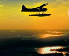 Photo from allcanadashow.com - float plane high over Canada. Beaver Shot, Bush Pilot, Sea Planes, Bush Plane, Float Plane, Flying Boat, Beavers, Amphibians, Continents