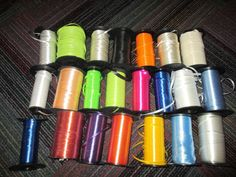"""LOT OF 23 SPOOLS 3/16"""" & 3/8"""" RIBBON / CURLING RIBBON, VARIOUS COLORS & SIZES #AnyOccasion"""