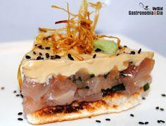 Tartar de atún con mayonesa de sésamo | Gastronomía & Cía