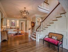 Foyer Design. Beautiful Foyer Design! #Foyer #Interiors #HomeDecor