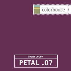 Colorhouse PETAL .07: Rich and saturated like the inside of a beet. Funky, flashy and fun for dining rooms and powder rooms.