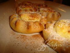 Γλυκές ιστορίες: Λυχναράκια Κρητικά! Greek Desserts, Finger Foods, French Toast, Bread, Breakfast, Recipes, Morning Coffee, Finger Food, Brot
