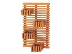 Jardim Vertical 60 x 100 Capri - Jatobá Smart Bed, Craft Stick Crafts, My Dream Home, Diy Home Decor, Woodworking, Toys, Miniatures, Design, Capri