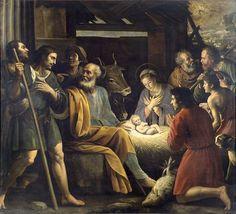 Giuseppe Vermiglio Natività e adorazione dei pastori