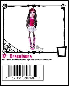 Frightfully Tall-Monster High Doll Checklist