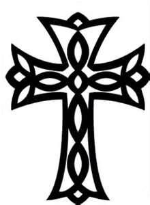 i think i like this one best, maybe another tattoo? Cross Tattoo Designs, Cross Designs, Cross Tattoos, Cross Silhouette, Silhouette Cameo, New Wallpaper, Illustrations And Posters, Picture Design, Bumper Stickers