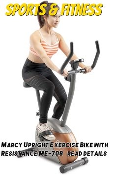 (This is an affiliate pin) Marcy Upright Exercise Bike with Resistance ME-708 Upright Exercise Bike, Cardio, Training, Gym, Fitness, Sports, Hs Sports, Work Outs, Excercise