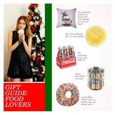 """""""Gift Guide: Food Lovers"""" by anisha-b ❤ liked on Polyvore featuring interior, interiors, interior design, home, home decor, interior decorating, John Derian, Cole & Mason, giftguide and foodlovers"""