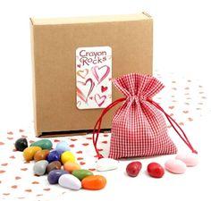 Crayon Rocks Valentine Box
