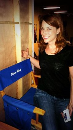 NCIS Season 12 Behind The Scenes ~~ Diane Neal