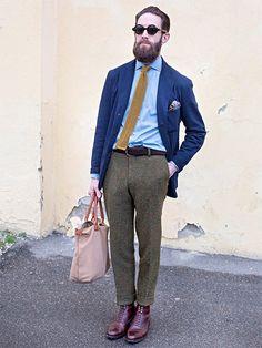 ちゃんと着こなしながらも個性を発揮するJKスタイルとは? | メンズファッションの決定版 | MEN'S CLUB(メンズクラブ)