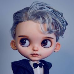 This is the cutest Blythe Boy I've seen in awhile!!