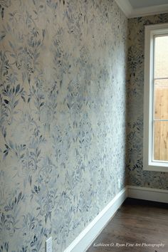 Love this to no end. Embossed plaster finish by Nena Garza-Sexton of NCF Studio. Photographed by Kathleen O. Ryan.
