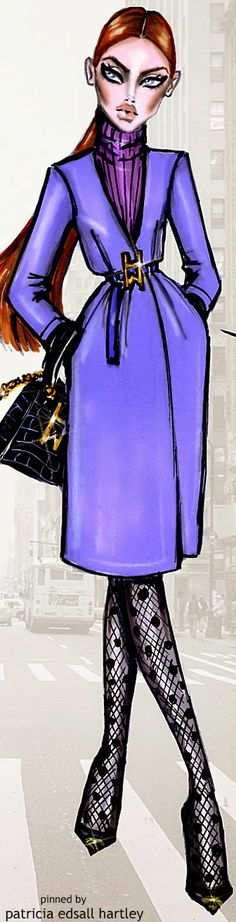 Style in the City by Hayden Williams 'Purple Perfection'