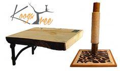 KoogaTree Luxury Cat Furniture, Shelves, Scratchers