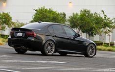 Black BMW E90 5