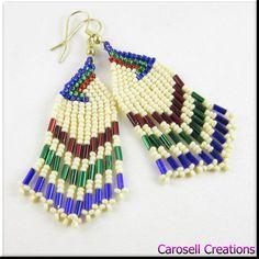 native beaded earrings designs - Google Search