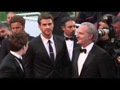 Catching Fire : Behind the scene Cannes 2013 Jennifer Lawrence Liam Hemsworth Sam Clafin