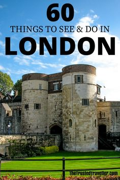 The Tower of London is a not to be missed attraction in London - 60 Things to See & Do in London - The Trusted Traveller