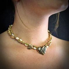 Gold Necklace, Chain, Jewelry, Gold Pendant Necklace, Jewlery, Jewerly, Necklaces, Schmuck, Jewels