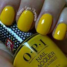 """OPI """"Hate to Burst Your Bubble"""". My second 20180523 manicure with 2 layers of top coat covering the textured polish. For Pantone Ceylon Yellow. Opi Nail Polish Colors, Opi Nails, Nail Polishes, Mani Pedi, Manicure, Kylie Jenner Nails, Easy Nail Art, Top Coat, Pantone"""