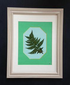 Framed Pressed Botanical on Original Graphic by MyStoningtonGarden, $50.00
