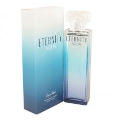 Eternity Aqua by Calvin Klein Eau De Parfum Spray 3.4 oz