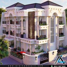 Request dari klien kami dengan Bpk tino yg berlokasi di sunter Jakarta Utara dgn informasi sbb : - Ukuran tanah = 16x22 meter - Lt. dasar = 190 m2 - Lt. satu = 190 m2 - Lt. Dua = 190 m2 - Luas Bangunan = 570 meter2 #desainrumahartis #desainrumahmewah #desainrumahidaman #arsitekdesainrumah #arsitekturklasik #arsitekturclassic #desainrumahklasik #rumahklasik #classichome #classicdesign #desainklasik #desainrumah #desainrumahfuturistic #rumahmewah #desainrumahelegant #arsitekeksterior… Home Fashion, Mansions, House Styles, Home Decor, Decoration Home, Room Decor, Fancy Houses, Mansion, Manor Houses