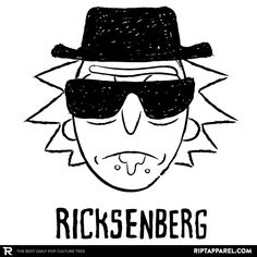 ''Ricksenberg'' by Soulkr available today only, 1/19/16, at RIPT Apparel