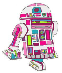 Cool Boys Like Epic Droids Art Print by beegreen