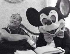 Karmapa and Mickey Mouse - Google Search