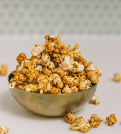 Chai Masala Popcorn with Assam Tea