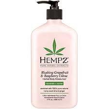 Hempz Grapefruit Raspberry Creme Moisturizer 17 OZ