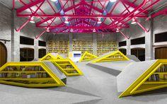 Centro Cultural e Biblioteca Infantil Conarte | Anagrama