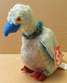 Amazon.com: TY Beanie Babies Buzzy the Buzzard Bird Stuffed Animal Plush Toy - 5 inches tall - Blue and Yellow: Toys & Games $7 (Noah)
