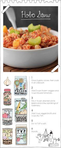 The Vegan Stoner's hobo stew. Repinned from Vital Outburst clothing vitaloutburst.com