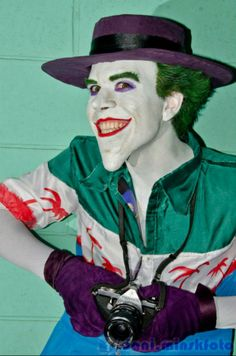 So many Jokers out there in the cosplay world, but we think this one, based on the critically acclaimed comic 'The Killing Joke,' is fantastic.