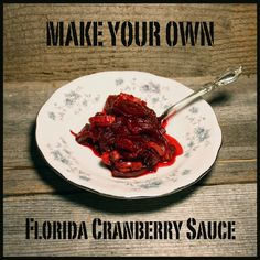 """Make your own """"Florida cranberry sauce!""""  Cranberry sauce (or cranberry relish) is one of the highlights of the holidays. In the south we can't easily grow cranberries, but we can grow Jamaican sorrel, also known as """"Florida cranberry."""" Check out this delicious """"cranberry"""" relish recipe - your family won't know the difference!"""