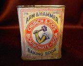 Arm & Hammer Baking Soda Tin