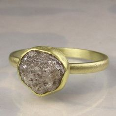 Rough diamond ring... another one of those things i think i kind of really like