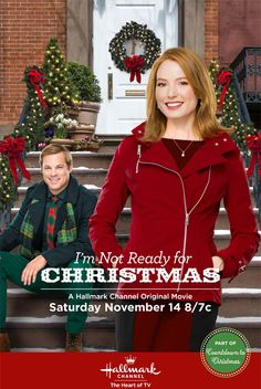 """Its a Wonderful Movie - Your Guide to Family Movies on TV: Hallmark Channel Christmas Movie """"I'm Not Ready for Christmas"""" 14/11/15                                                                                                                                                                                 Plus"""
