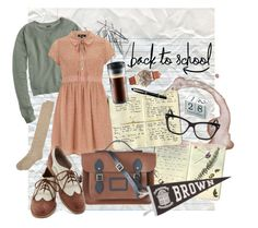 """""""Back to School // College Prep"""" by seabirdx ❤ liked on Polyvore featuring Moleskine, Christian Dior, J.Crew, Monki, Bodum, Aurora, Dorothy Perkins, HotSquash, Urban Outfitters and The Cambridge Satchel Company"""