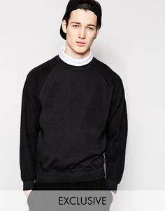 Reclaimed Vintage Roll Neck Sweatshirt With Double Layer, S$86.66